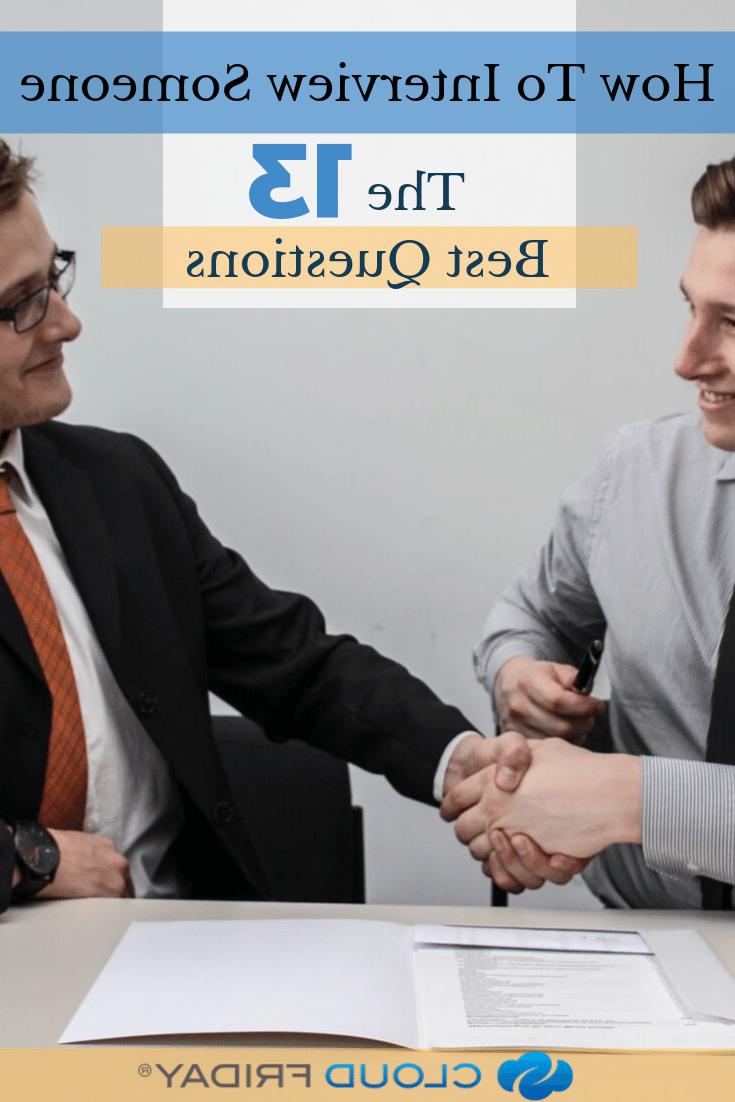 Comment faire passer un entretien à quelqu'un